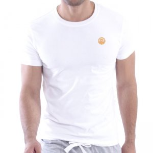 Private Structure Custom Fit Crew Neck Bodywear Short Sleeved T Shirt White 99-MT-1627