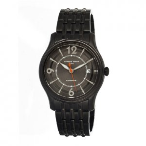 ea53c8d65 Heritor Automatic Aura Men's Semi-Skeleton Leather-Band Watch - Rose ...