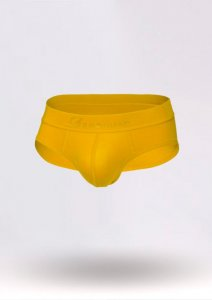 Geronimo Slip Brief Underwear Yellow 1861S2-5
