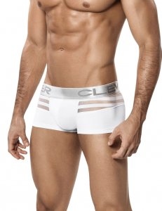 Clever Ammolite Latin Boxer Brief Underwear White 2210