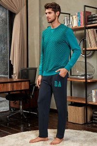 Doreanse Geometric Sweater & Pants Set Loungewear 4569