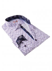 Spazio Polilan Long Sleeved Shirt Lilac 40-S-3058