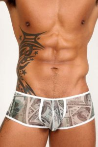 Pistol Pete Cash Mesh Trunk Underwear UT420-651