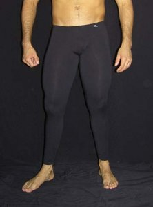 Arroyman Cotton Spandex Fitness Pants Black