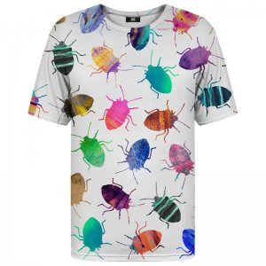 Mr. Gugu & Miss Go Colorful Cockroaches Unisex Short Sleeved T Shirt TSH727
