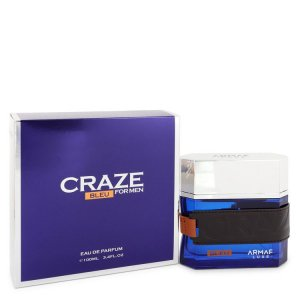 Armaf Craze Bleu Eau De Parfum Spray 3.4 oz / 100.55 mL Men'...