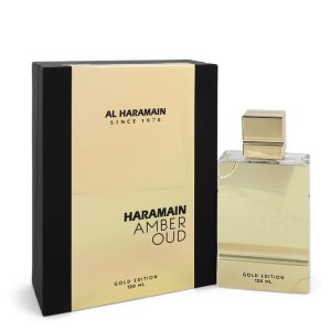 Al Haramain Amber Oud Gold Edition Eau De Parfum Spray (Unisex) 4 oz / 118.29 mL Men's Fragrances 548473