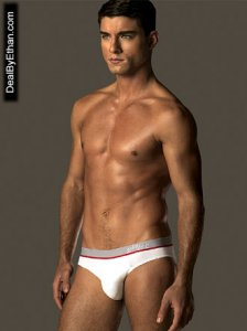 2xist Sliq Brief Underwear White 1759 USA2