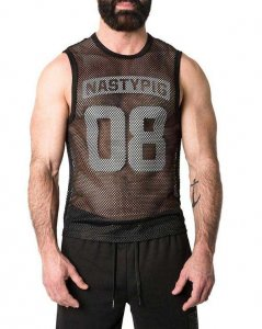 Nasty Pig Net Muscle Top T Shirt