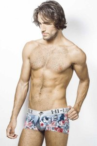 L'Homme Invisible Firenze V Boxer Brief Underwear Blue MY19-FIR-FI1