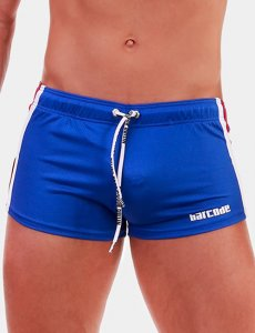 Barcode Berlin Timur Shorts Royal/White/Red 91679-806