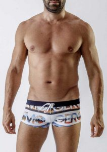 Geronimo Square Cut Trunk Swimwear 1721B2-1