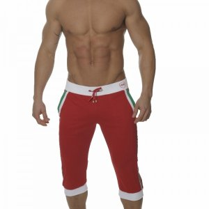 ES Collection Sporty 3/4 Pants Red SP029