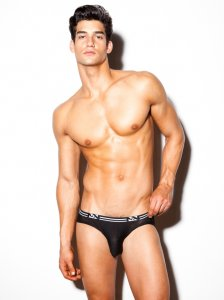 N2N Bodywear Air Brief Underwear Black UN83