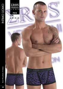 Eros Veneziani Hiver Boxer Brief Underwear Purple 7018