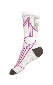 Litex Crew Socks Light Grey 99622