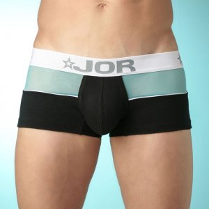 Jor MIX BLACK/BLUE Boxer Underwear