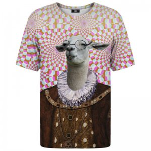 Mr. Gugu & Miss Go Goat Lady Unisex Short Sleeved T Shirt TSH547