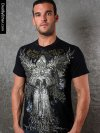 Epic High Density Foil Rhinestones Short Sleeved T Shirt Black 2003