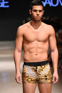 Sauvage Dolce Vita Italia Square Cut Trunk Swimwear 252DCV