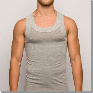 Modus Vivendi Pure Tank Top T Shirt Grey 17031