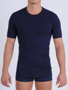 Ginch Gonch Signature Short Sleeved T Shirt Navy MSG124