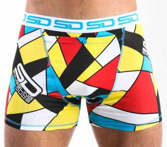 Smuggling Duds Abstract Boxer Brief Underwear SDMBS009