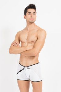 Lookme Mixing Boxer Brief Underwear White 43-67