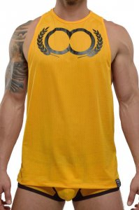 2EROS Olympus Tank Top T Shirt Gold TX12-25