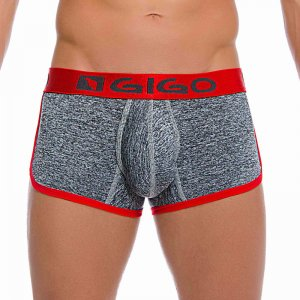 Gigo JASP GREY Short Boxer Underwear G02090-GREY