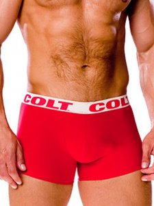 Colt Basics Boxer Brief Underwear Red SE6912