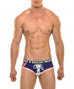 STUD Maverick France Brief Underwear Navy
