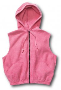 Chammyz Vest with Hood Sweater