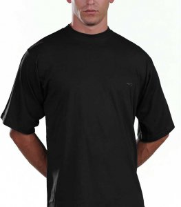 Lord Monochrome Short Sleeved T Shirt Black 181