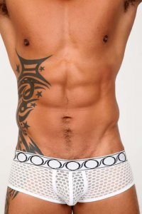 Pistol Pete Scope Trunk Underwear Ivory UT434-704