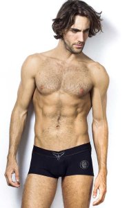 L'Homme Invisible Diamonds V Boxer Brief Underwear Black MY19-DIA-001