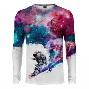 Mr. Gugu & Miss Go Surfing Cosmonaut Long Sleeved T Shirt LS...