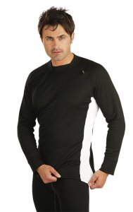 Litex Side Panel Long Sleeved T Shirt Black 73068