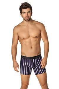 Xtremen Microfiber Boxer Brief Underwear Black 51328