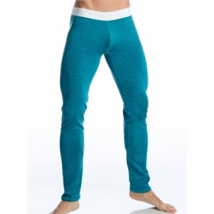Gigo SUPER RACING GREEN Lycra Long Pants G18115