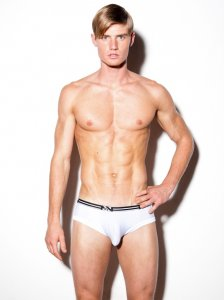 N2N Bodywear Air Trunk Boxer Brief Underwear White UN84