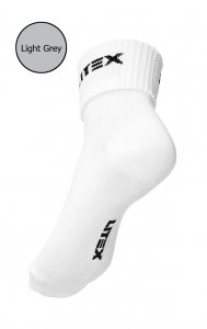Litex Crew Socks Light Grey 99602