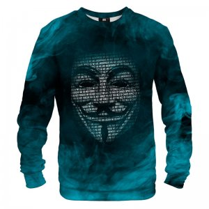 Mr. Gugu & Miss Go Anonymous Mask Unisex Sweater S-PC1320