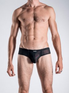 MANstore M101 Cheeky Brief Underwear Black 2-06195/8000 NOS
