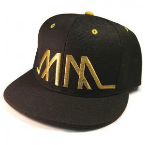 Marco Marco Heartbeat Snapback Hat Gold