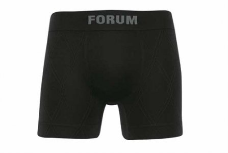 Forum Microfiber Seamless Boxer Brief Underwear Black 774-03