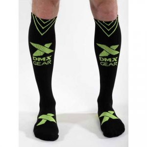 DMXGEAR Sporty Compression Knee Socks Black