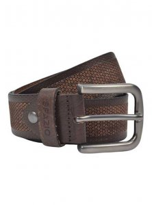 Spazio Snake Belt Brown 3577