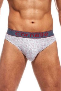 Cornette High Emotion Printed 507/01 Slip Brief Underwear Re...