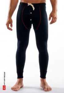 Go Softwear Lumber Jack Long Johns Long Underwear Pants Blac...